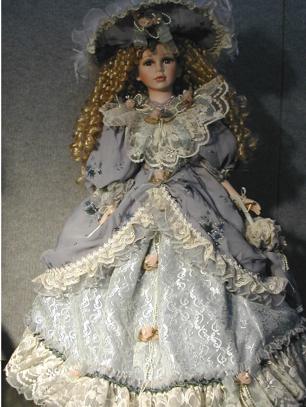 collectible porcelain dolls by name